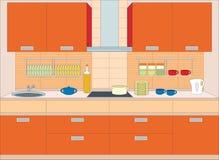Küchemöbel. Stockbild