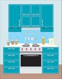 Küchemöbel. Stockfoto