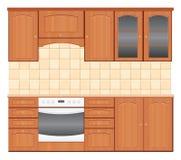 Küchemöbel Lizenzfreies Stockfoto