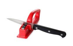 Küchemesser und -bleistiftspitzer Stockfotos