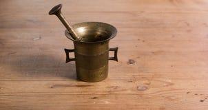 Küchen-alter Mörser Lizenzfreie Stockfotografie