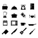 Küchen-Ikone Lizenzfreies Stockfoto