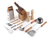 küchenbedarf lizenzfreie stockfotos