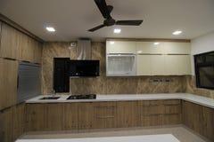 Küchenbereich Stockfoto