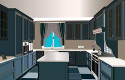 Küchendesign Stockbilder