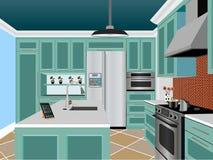 Küchendesign Lizenzfreie Stockbilder