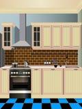 Küchendesign Lizenzfreie Stockfotografie