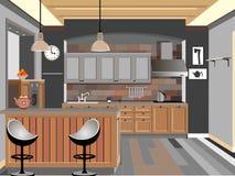 Küchendesign Stockfotografie