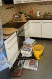 Küchenerneuerung Stockbilder
