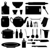 Küchenmaterial Stockbild