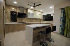 Küchenraum Stockbild