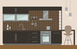Küchenschrankdesign Stockbilder