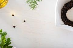 Küchentisch Stockfotos