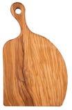 Küchenvorstand des olivgrünen Holzes Lizenzfreie Stockfotografie
