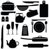 Küchenwerkzeuge Stockfotografie
