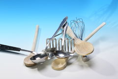 Küchenwerkzeuge Stockfoto