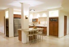 Kücheraum Stockfoto