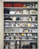 Kücheschließfach Lizenzfreies Stockfoto