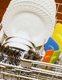Küchespülmaschine Stockfotos