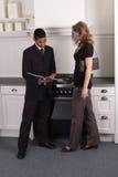 Küchespeicherdarstellung Lizenzfreie Stockbilder