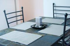 Küchetabelle Stockbild