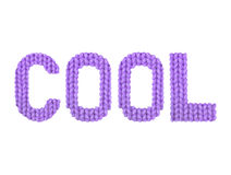 kühl Farbpurpur Lizenzfreies Stockfoto