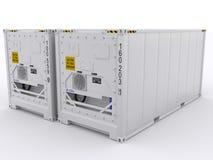 Kühlcontainer stock abbildung