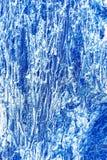 Kühle blaue Metalloberflächenbeschaffenheit Stockbilder