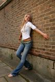 Kühle Blondine Lizenzfreie Stockfotografie