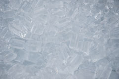 Kühle Eiswürfel. Stockfotografie