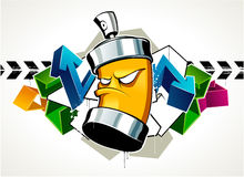 Kühle Graffiti Lizenzfreie Abbildung