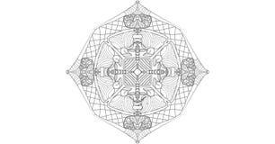 Kühle Mandala lizenzfreie abbildung