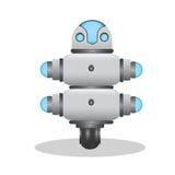 Kühle und nette Illustration des Roboters 3d Lizenzfreie Stockfotos