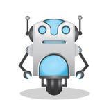 Kühle und nette Illustration des Roboters 3d Lizenzfreies Stockfoto