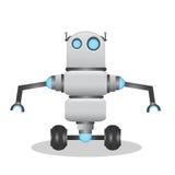 Kühle und nette Illustration des Roboters 3d Lizenzfreies Stockbild