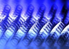 Kühlen Sie farbigen Hintergrund der Zusammenfassungs-3D ab Lizenzfreie Stockbilder