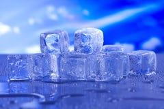 Kühlen Sie und gefrieren, kalte und neue Konzept ab Lizenzfreie Stockfotos