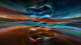 Kühler abstrakter Hintergrund Stockfoto