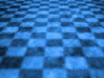 Kühler blauer Checkered Hintergrund lizenzfreie stockbilder