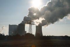 Kühler eines Kraftwerks Lizenzfreies Stockbild