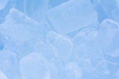 Kühler Eishintergrund. Stockfoto