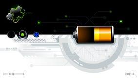Kühler futuristischer Hintergrund lizenzfreie abbildung