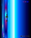 Kühler futuristischer Hintergrund Stock Abbildung