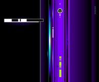 Kühler futuristischer Hintergrund vektor abbildung