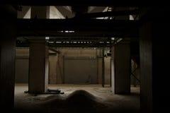 Kühler industrieller Innenraum Stockfotos