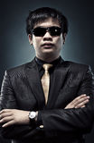 Kühler japanischer Mann Stockfoto