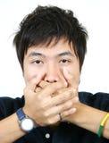Kühler junger asiatischer Kerl Lizenzfreies Stockbild