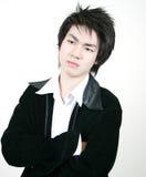 Kühler junger asiatischer Kerl lizenzfreie stockfotos