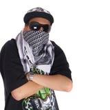 Kühler junger Gangster Stockfotos