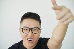 Kühler junger Mann lizenzfreies stockfoto